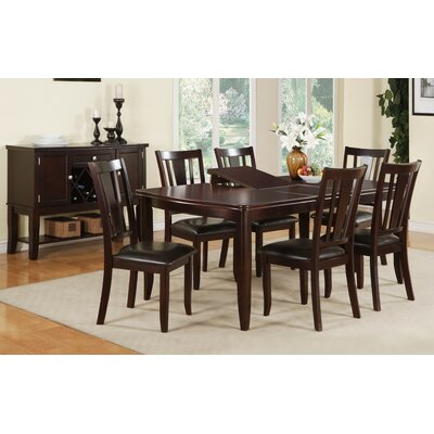 A&J Homes Studio Larina 7 Piece Dining Table Set