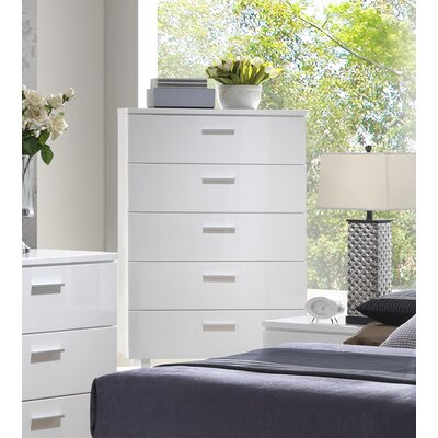 A&J Homes Studio Branchville 5 Drawer Chest