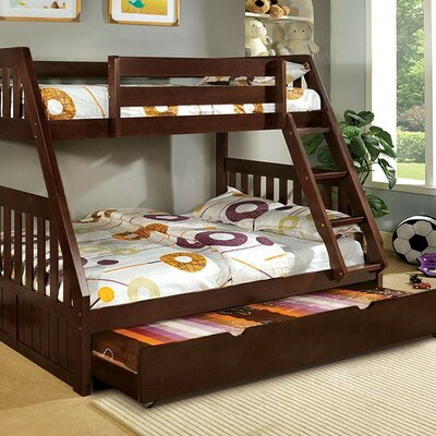 A&J Homes Studio Carrie Twin over Full Bunk Bed