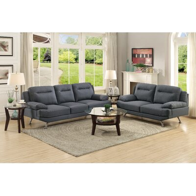 A&J Homes Studio Stacey Sofa and Loveseat Set