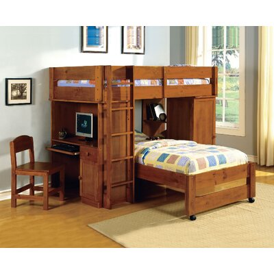 A&J Homes Studio Radley Twin Bunk Bed with Storage