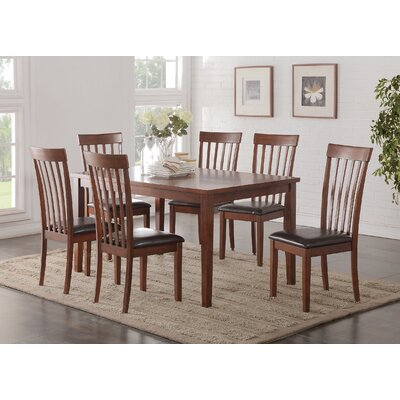 A&J Homes Studio Longwood 7 Piece Dining Set