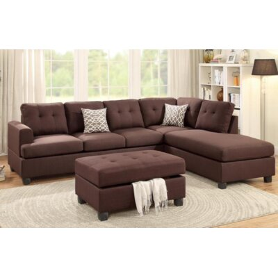 A&J Homes Studio Sona Reversible Chaise Sectional
