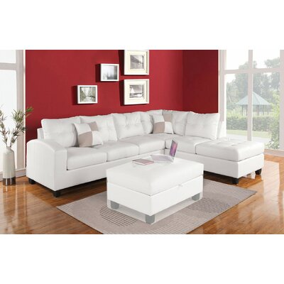 A&J Homes Studio Susan Reversible Chaise Sectional