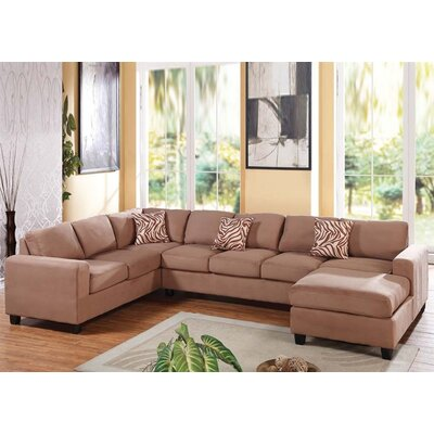 A&J Homes Studio Rose Modular Sectional