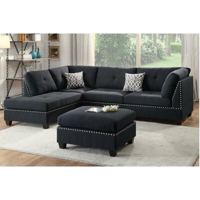 A&J Homes Studio Tammy Reversible Chaise Sectional
