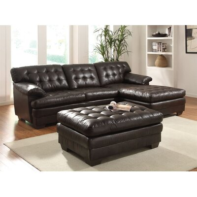 A&J Homes Studio Daisy Reversible Chaise Sectional