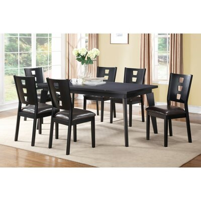 A&J Homes Studio Joey 7 Piece Dining Set