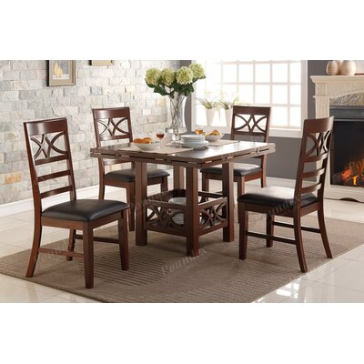 A&J Homes Studio Wesly 5 Piece Dining Set