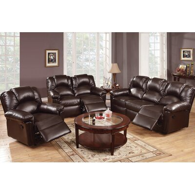 A&J Homes Studio Andy Motion 3 Piece Living Room Set