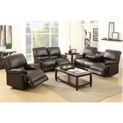 A&J Homes Studio Sandy Motion 3 Piece Living Room Set