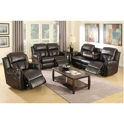 A&J Homes Studio Nancy Motion 3 Piece Living Room Set
