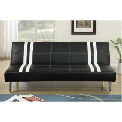 A&J Homes Studio Semi Adjustable Sleeper Sofa