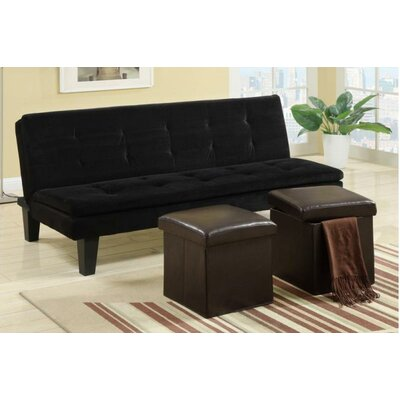 A&J Homes Studio Ramiro Adjustable Sleeper Sofa