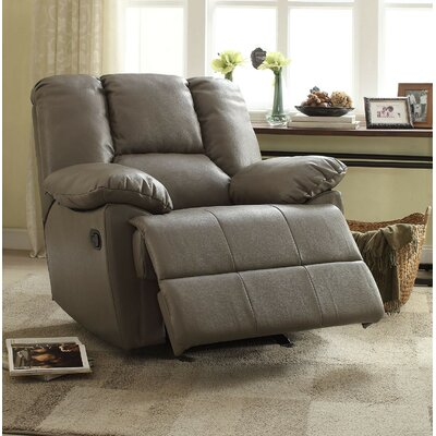 A&J Homes Studio Moss Glider Recliner