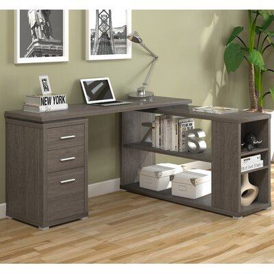 A&J Homes Studio Olive Writing Desk