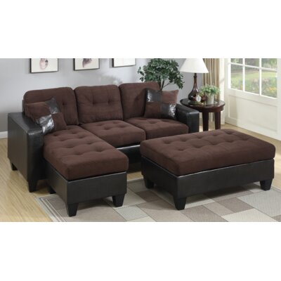A&J Homes Studio Swain Sleeper Sectional