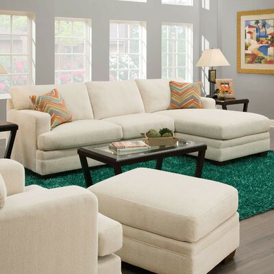 A&J Homes Studio Julie Reversible Chaise Sectional