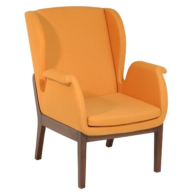 Oak Idea Imports Relax Wing Back Chair
