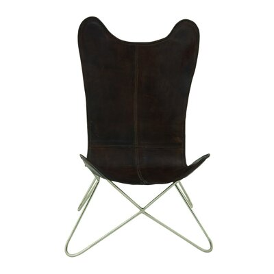 ABC Home Collection Leather Side Chair