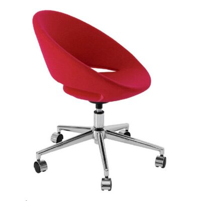 Modern Chairs USA Lunar Mid-Back Task Chair with Arms