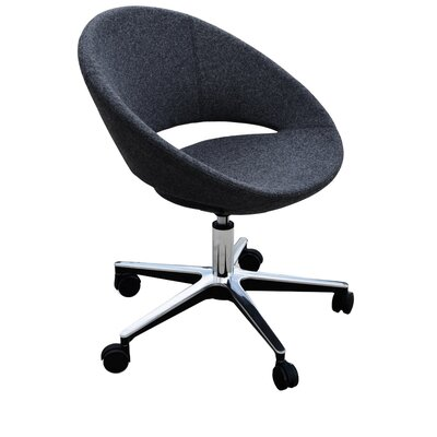 Modern Chairs USA Lunar Mid-Back Task Chair with Arms Image