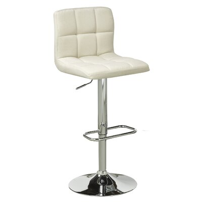 Brassex Elmira Adjustable Height Swivel Bar Stoo..