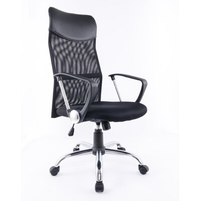 Brassex High-Back Adjustable Office Ch..
