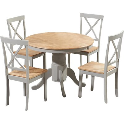 Breakwater Bay Belgrade Dining Table And 4 Chairs