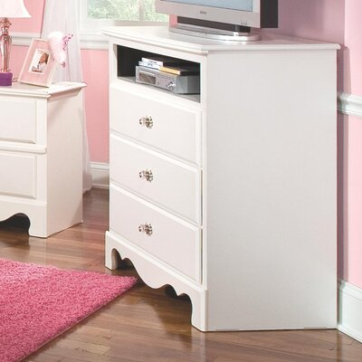 Viv + Rae Gabriella 3 Drawer Chest of Drawers