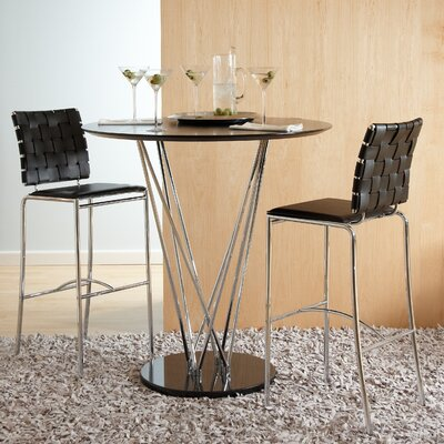 Eurostyle Stacy 3 Piece Dining Set