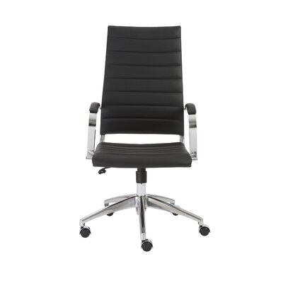 Wade Logan Emil High-Back Task Chair with Arms