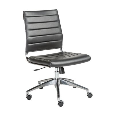 Wade Logan Luz Low-Back Desk Chair