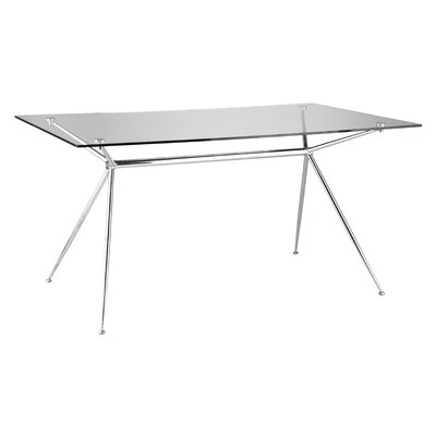 Eurostyle Atos Dining Table in Chrome