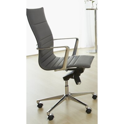 Eurostyle Kyler High-Back Leatherette Office Chair with Arms Image