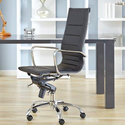 Eurostyle Owen Low-Back Leatherette Office Chair