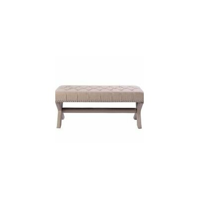 Iconic Home Neil Upholstered Bedroom Bench