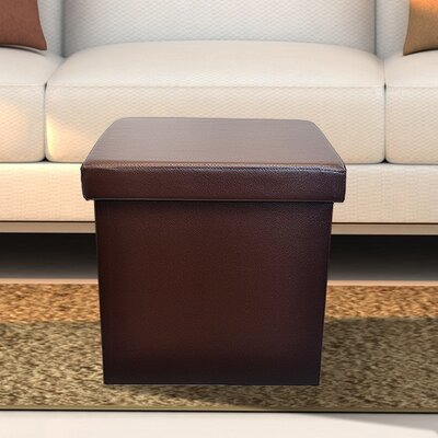 Sorbus Folding Storage Ottoman