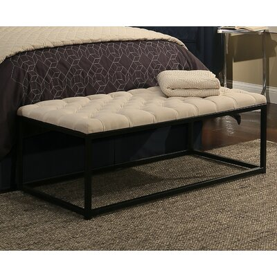 Republic Design House Metal Bedroom Bench