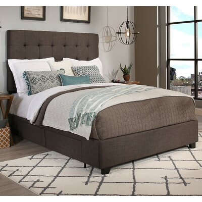 Republic Design House Manhattan Upholstered Panel Bed