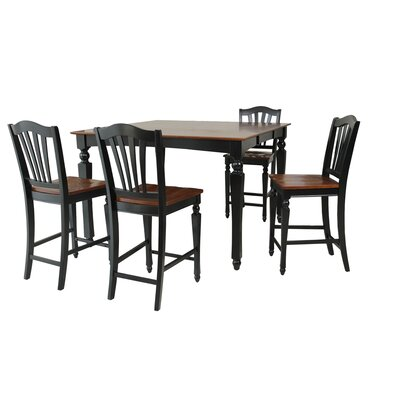 TTP Furnish Onoway 5 Piece Counter Height Dining Set