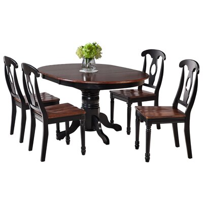 TTP Furnish Valleyview 5 Piece Dining Set