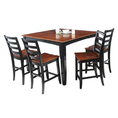 TTP Furnish Ryley 5 Piece Counter Height Dining Set