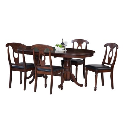 TTP Furnish Princeton 5 Piece Dining Set