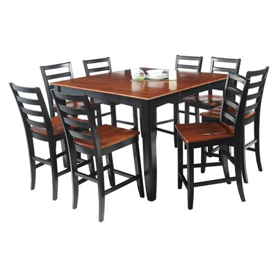 TTP Furnish Ryley 9 Piece Counter Height Dining Set