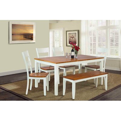 TTP Furnish Boswell 6 Piece Dining Set