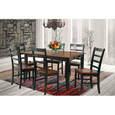 TTP Furnish Wabasca 7 Piece Dining Set