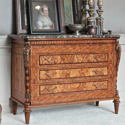 Annibale Colombo Elite 3 Drawer Dresser