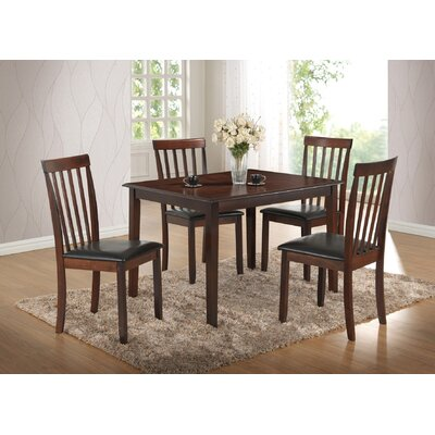 Best Quality Furniture 5 Piece Dining Set