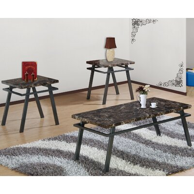 Best Quality Furniture 3 Piece Coffee Table Set